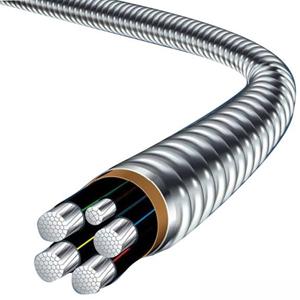 YJHLV8(AC90)连锁铠装电力电缆