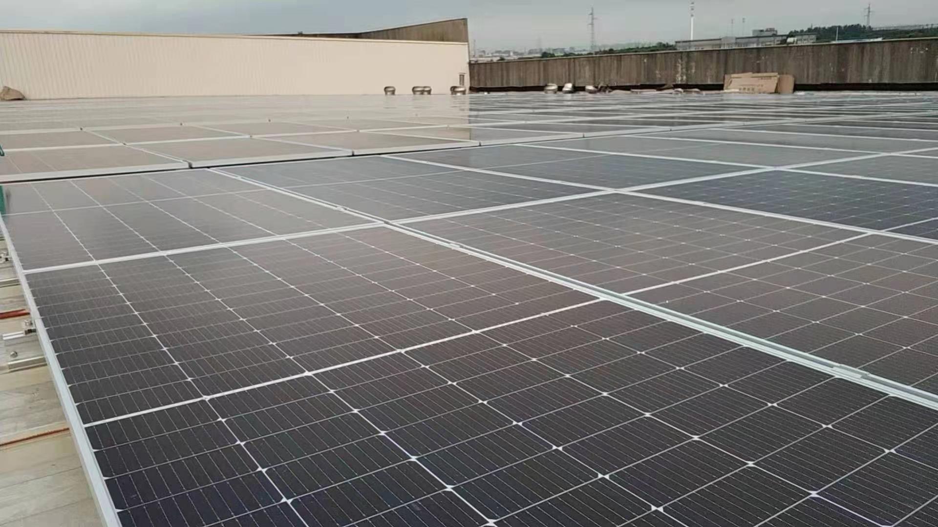 3.5MW淀山湖企业屋顶光伏电站项目