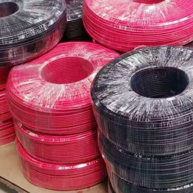 光伏电缆线2.5平方 H1Z2Z2-K2.5mm2 DC1500V直流太阳能电缆